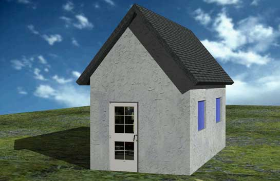 free cad tutorial 3 16 modeling a building autocad 2008